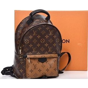{Louis Vuitton} Reverse Palm Springs Backpack PM